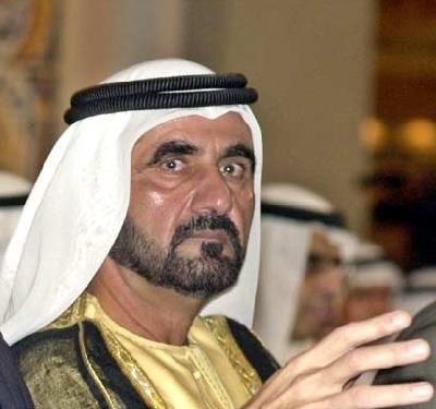 scheich mohammed bin rashid al maktoum premierminister vereinigte arabische emirate emir dubai munkjpg